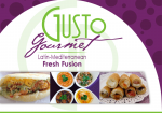 Gusto Gourmet to Go