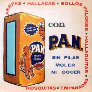 Fig 5. Propaganda para Harina P.A.N. (60's)