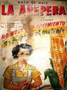 Fig. 1 Harina de Maiz precocido La Arepera