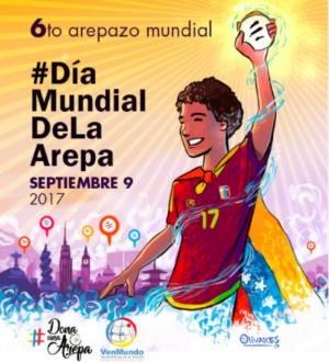 Dia Mundial de la Arepa 2017